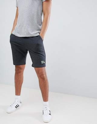 Tokyo Laundry Jersey Shorts with Neon Highlights