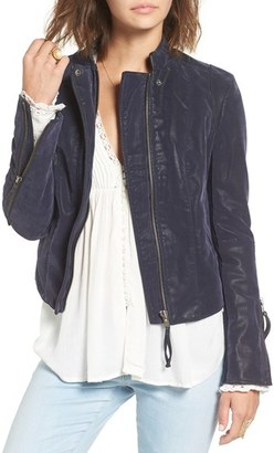 Women's Free People Faux Leather Jacket $148.50 thestylecure.com