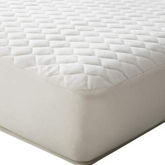 T.L.Care TL Care® Organic Cotton Waterproof Quilted Fitted Crib Mattress Cover - Natural