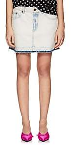 Marc Jacobs Women's Denim Miniskirt-Indigo