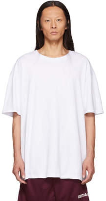 Essentials White Boxy T-Shirt