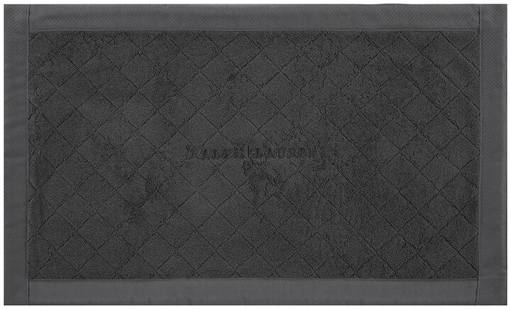 Avenue Bath Mat - Graphite