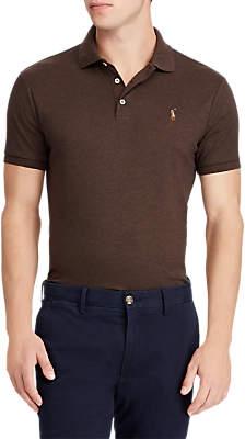 Ralph Lauren Polo Pima Cotton Slim Fit Polo Shirt