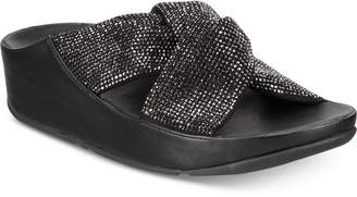 FitFlop Twiss Crystal Slide Sandals Women's Shoes