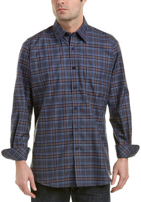 Anthony Logistics For Men Forsyth of Canada Forsyth Of Canada Tailored Fit Non-Iron Woven Shirt