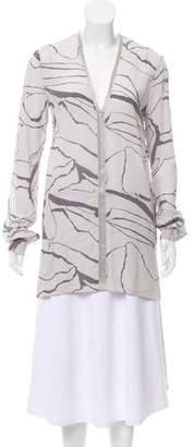 Missoni Silk Long Sleeve Top w/ Tags