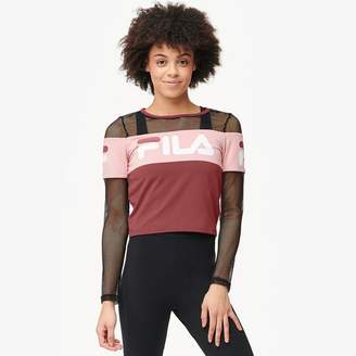 Fila Tara Crop Long Sleeve Top - Women's