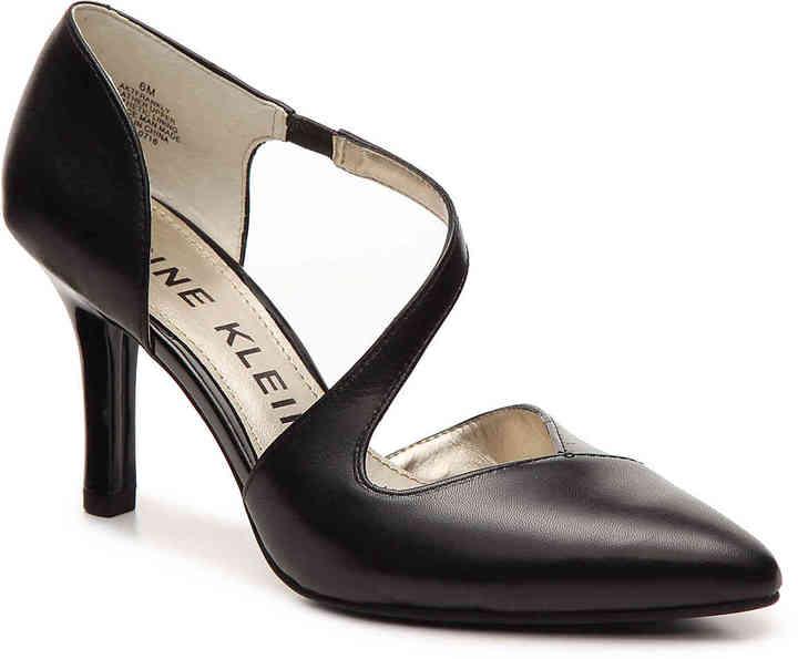 Anne KleinWomen's Frankly Pump -Black