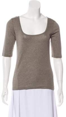 Ralph Lauren Black Label Short Sleeve Knit Top