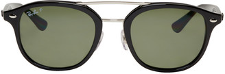 Ray-Ban Black RB2183 Sunglasses $205 thestylecure.com