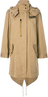 Kenzo hooded zipped jacket