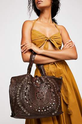 Campomaggi Imperiali Distressed Tote