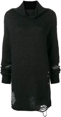 Thom Krom laddered stitch turtleneck sweater