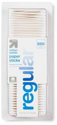 Up&Up Cotton Swabs Paper Sticks - 500ct - Up&UpTM