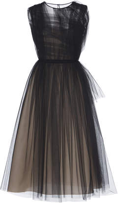 N°21 Verdana Draped Pleated Tulle Dress Size: 38