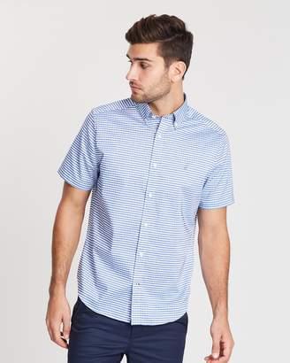 Nautica Short Sleeve Gingham Shirt