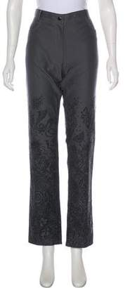 Givenchy Printed High-Rise Jeans