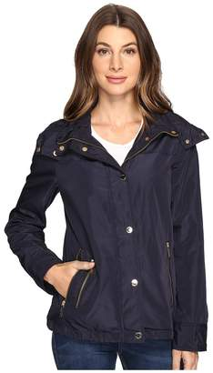 MICHAEL Michael Kors Hooded Snap Front Jacket M322087R Women's Jacket