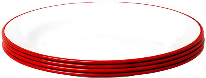 Falcon Plate Set - Set of 4 - Pillarbox Red