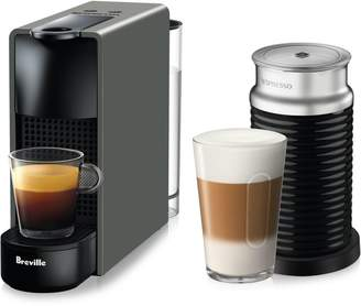 Nespresso Essenza Mini Machine with Aeroccino BEC250GRY1AU