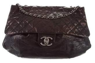 Chanel Maxi Elastic CC Flap Bag