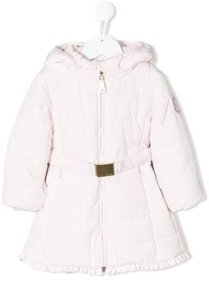 MonnaLisa puffer belted coat