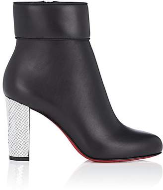 Christian Louboutin Women's Moulamax Leather Ankle Boots