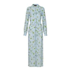 Dakota Storm & Marie Long Shirt Dress - 36 - Blue/Green/Natural