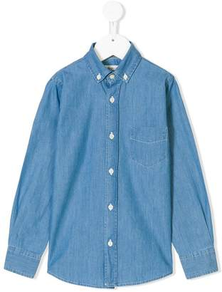Hartford Kids classic denim shirt