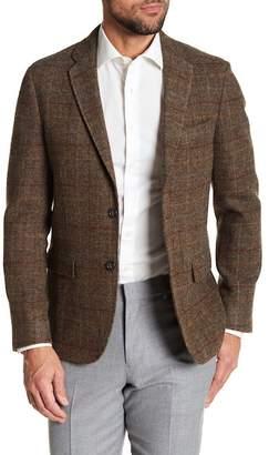 Brooks Brothers Notch Collar Triple Button Wool Jacket