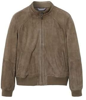 Mango Man MANGO MAN Suede biker jacket