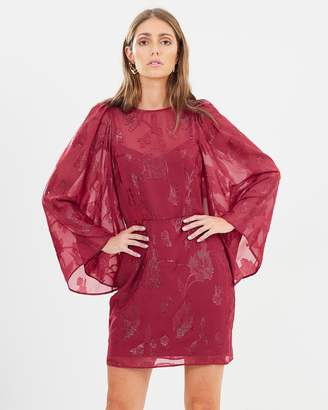 Cooper St Ophelia Long Sleeve Mini Dress
