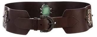 Valentino Embellished Waist Belt