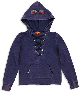 Butter Shoes Girls' Lace Up Hoodie - Big Kid