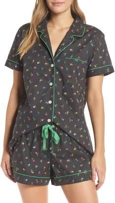 J.Crew Floral Print Pajamas