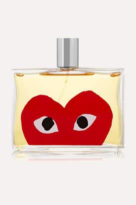 Comme des Garcons Parfums - Play Red Eau De Toilette - Red Mandarin & Safraleine,100ml $110 thestylecure.com