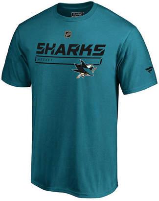 Majestic Men San Jose Sharks Rinkside Prime T-Shirt