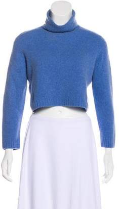 The Row Turtleneck Crop Sweater