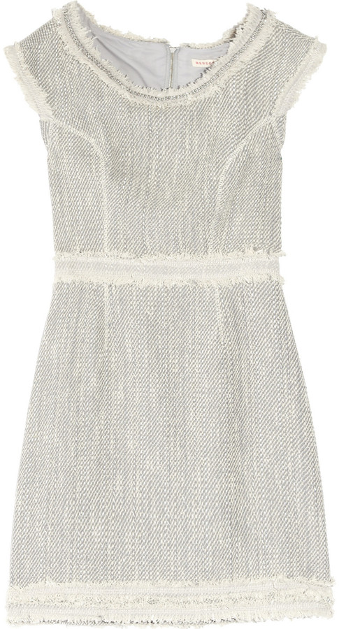 Rebecca Taylor Now And Later tweed mini dress