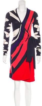 Diane von Furstenberg Wool-Blend Knee-Length Dress