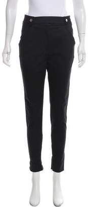 Courreges Mid-Rise Skinny Pants