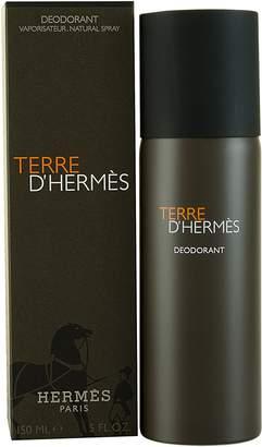 Hermes Terre D' for Men Deodorant Natural Spray 5.0-Ounce/150 Ml