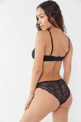 Out From Under Satin Lace-Back Bikini