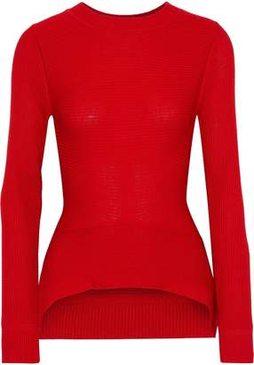 Tome Ribbed Merino Wool, Cashmere And Silk-blend Sweater