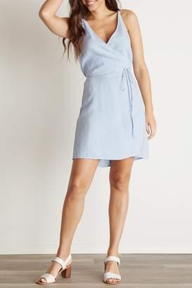 Bella Dahl V-BACK WRAP DRESS