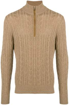 Loro Piana cashmere high neck sweater