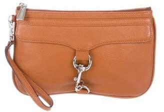 Rebecca Minkoff Leather Zip Wristlet