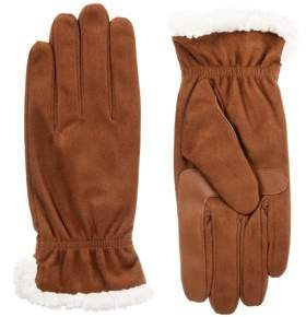 Isotoner Women's smartDRI Microfiber Glove with Sherpasoft Spill and smarTouch Technology