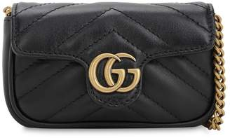 Gucci Gg Marmont 2.0 Leather Coin Case