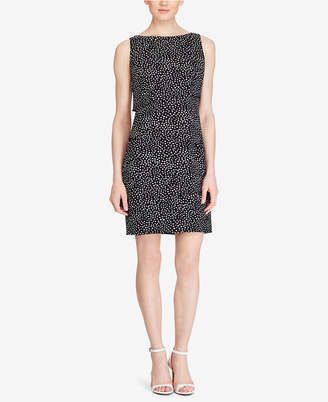 American Living Tiered Crepe Dot Dress $79 thestylecure.com